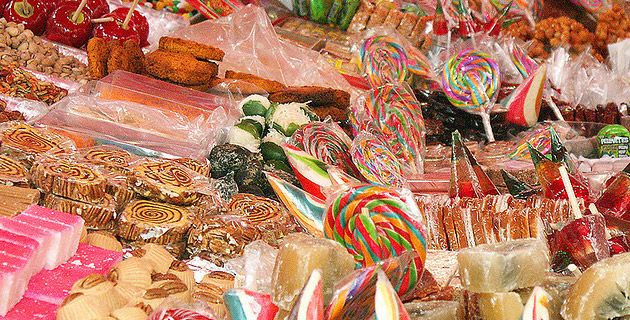Candy Market in Mexico City