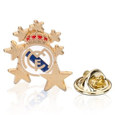 Real Madrid Crest Star Pin Badge: Real Madrid Crest Star Pin Badge #RealMadridShop #RealMadridStore