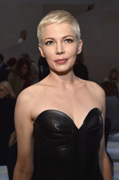 Short Hairstyles Lookbook: Michelle Williams wearing Pixie (2 of 17). We can't get enough of Michelle Williams' super-cute pixie!