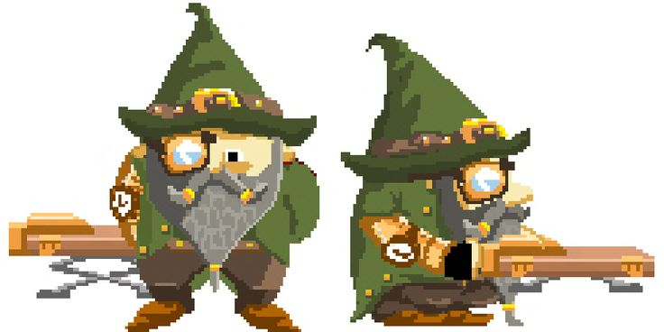 #pixelart of the day! One of our favourite characters from Clash of Gnomes: The jumping #gnome #games   https://www.facebook.com/pages/Clash-of-Gnomes/184713898285117  http://www.pinterest.com/clashofgnomes/