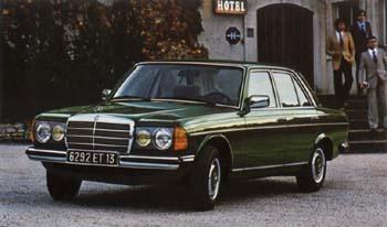 Mercedes Benz W123 240 D