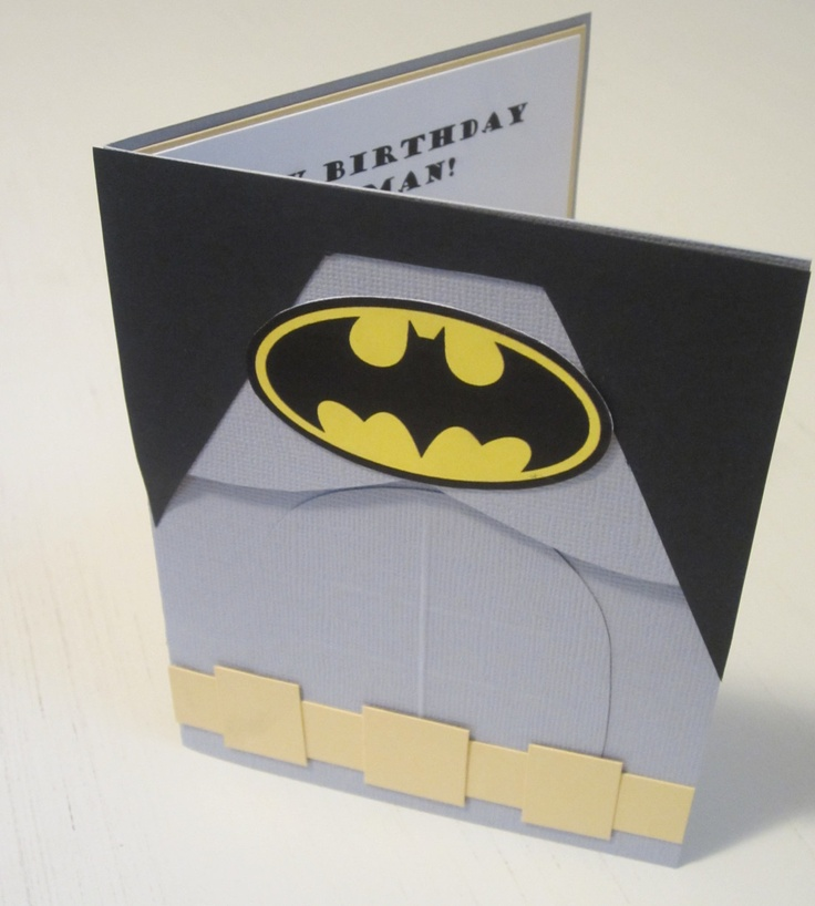 Batman Birthday Invitations. It's a little sad that I'm pinning this with my boyfriend in mind and not my child...