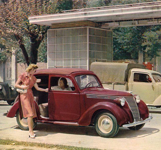 1939 Fiat 1100 A / B / E