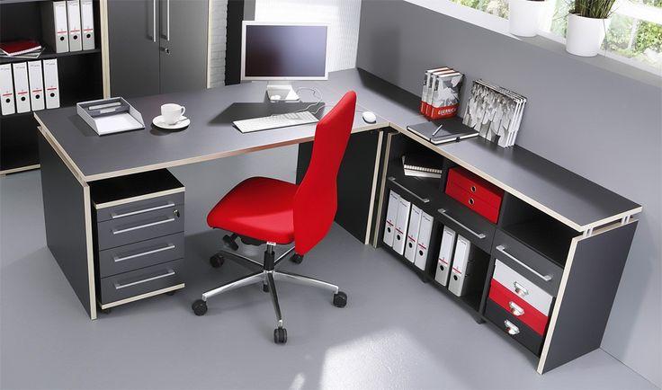 ber ideen zu winkelschreibtisch auf pinterest. Black Bedroom Furniture Sets. Home Design Ideas