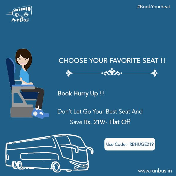 10 best bus booking service images on pinterest bus tickets book book your favorite seat at runbus and get rs 219 flat off with using fandeluxe Gallery