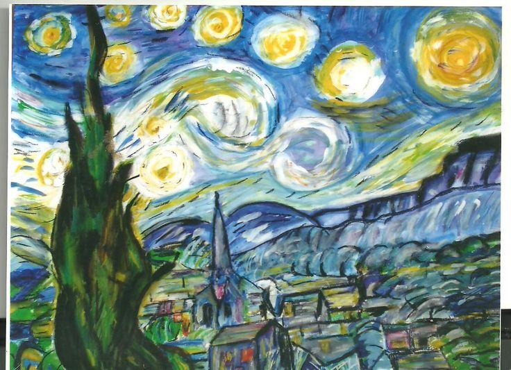 Peinture de Vincent Van GOGH faite par J.B. d'HERA - Le Press-Book de J.B. d'HERA Artiste Peintre Poète