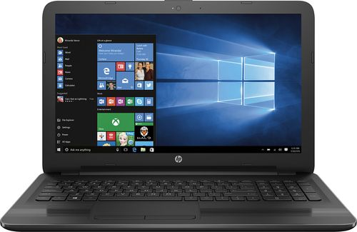 "Popular on Best Buy : HP - 15.6"" Touch-Screen Laptop - AMD A10-Series - 6GB Memory - 1TB Hard Drive - Black Linear texture Gradient grooves"