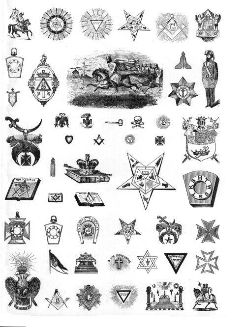 More illuminati symbols.