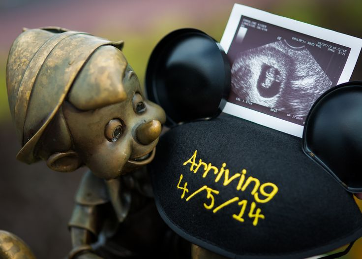 Disney baby announcement
