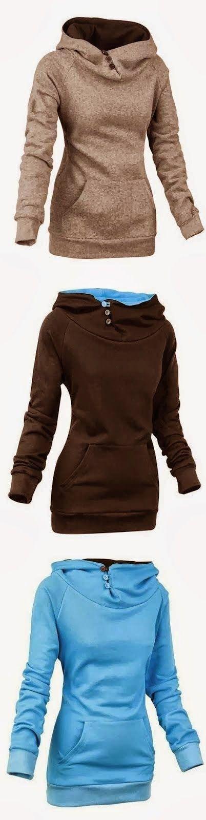 Comfortable Full Sleeve Women's Hoodies