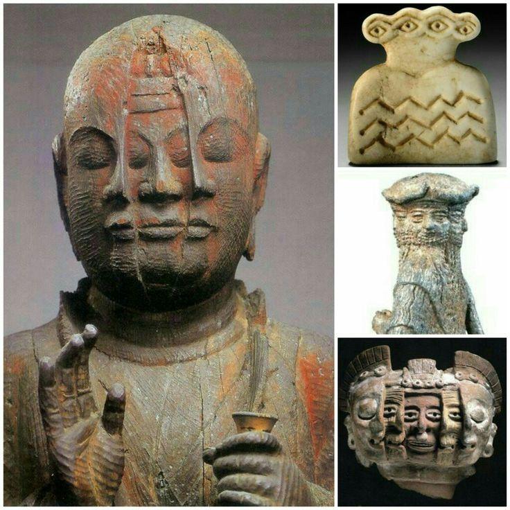 仏像、シュメール神、シュメール土偶、アステカ土偶、コンセプトが同じ