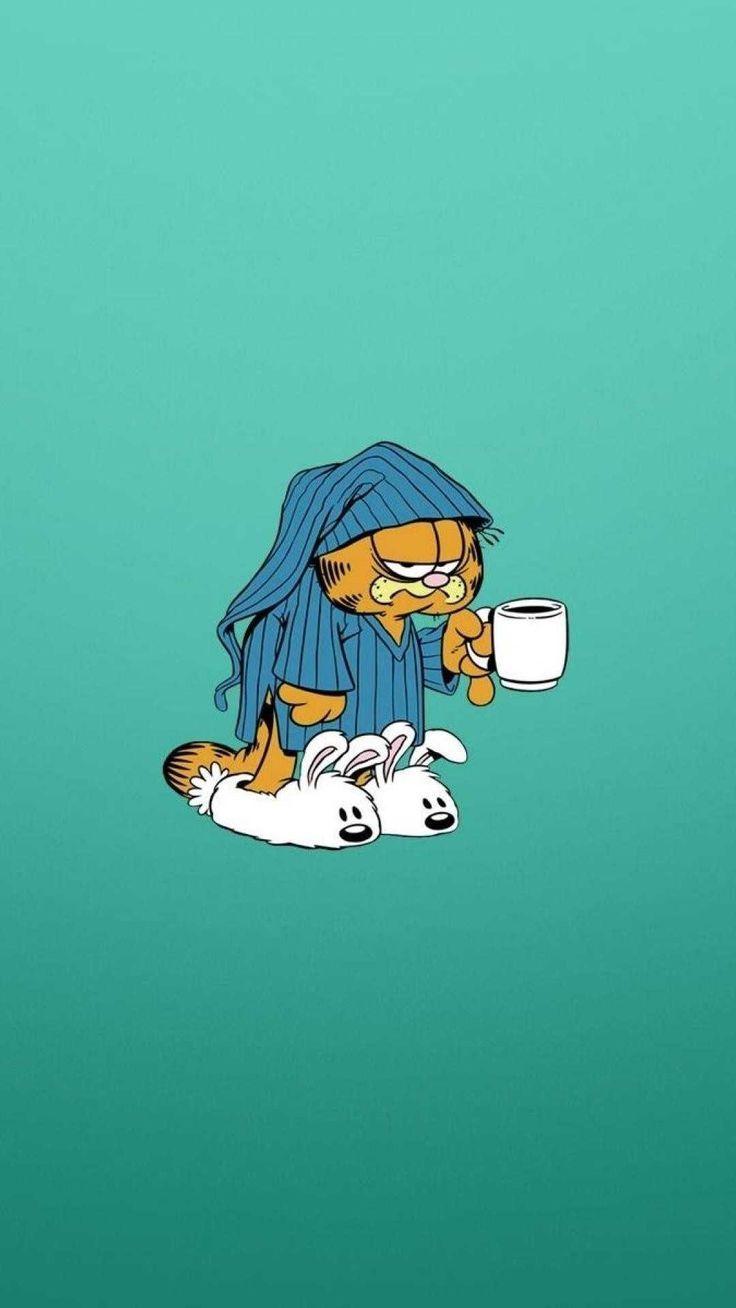 Best 64 Garfield Wallpapers On Hdwallpaperspage Garfield Hdwallpaperspage Wallpap Garfield Wallpaper Phone Lock Screen Wallpaper Cartoon Wallpaper Iphone
