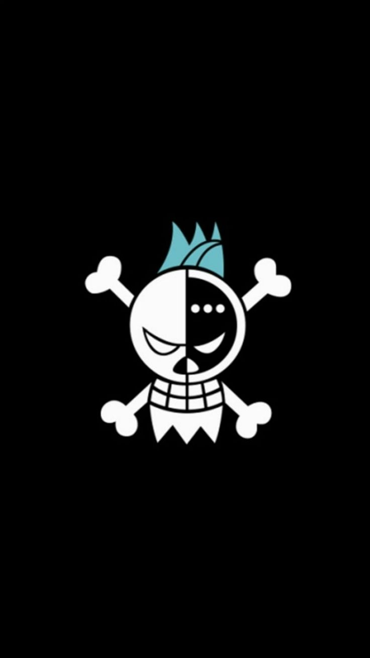Fun pirate skull logo pattern iphone 6 plus wallpaper - Skull wallpaper iphone 6 ...