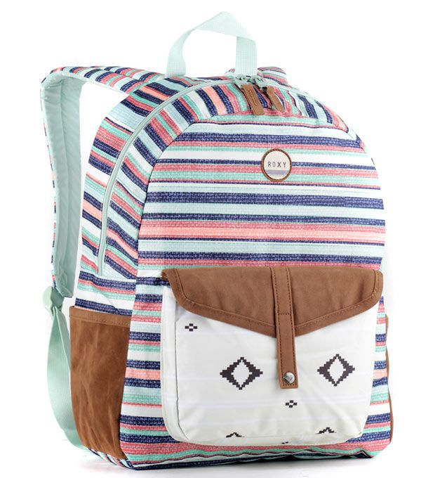 Женский рюкзак Roxy Caribbean Yandai Stripe