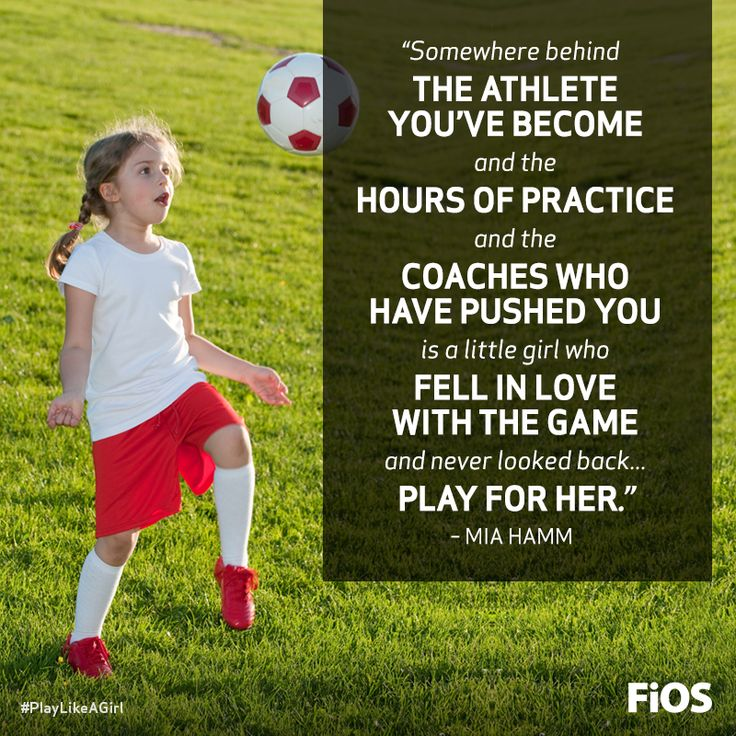 Mia Hamm Quote on Playing for the Love of the Game #soccer
