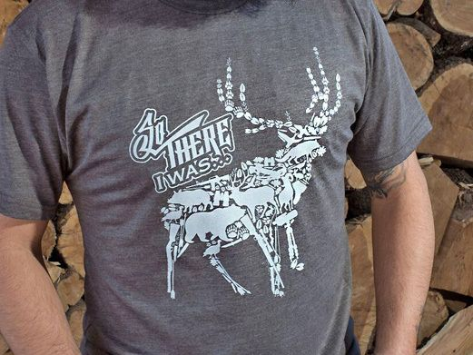 Hunting Breacher T-Shirt! SO THERE I WAS... Every time you hear it, whether around a camp fire or at a Friends BBQ, you know you're about to hear one of the most hysterical or life and death stories. Whether it was the largest fish caught or the trophy bull elk, let us help you tell your story. Just don't forget to start it properly, SO THERE I WAS! #Bottlebreacher