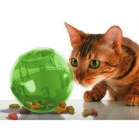 Balle distributrice de nourriture SlimCat - Jouet dynamique pour chat - Multivet / wanimo