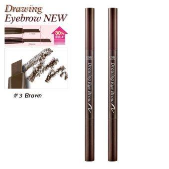 ราคาถูก  Etude House ดินสอเขียนคิ้ว (New) #No.3 Brown x2ด้าม Drawing EyeBrow Duo (ตัวใหม่เพิ่มปริมาณ30%)  ราคาเพียง  249 บาท  เท่านั้น คุณสมบัติ มีดังนี้ รุ่นใหม่เพิ่มปริมาณ30% เขียนง่าย& กันน้ำติดทนนาน& ขนาดกะทัดรัด& พกพาสะดวก