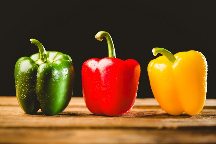 Lifestyle - Rainbow peppers