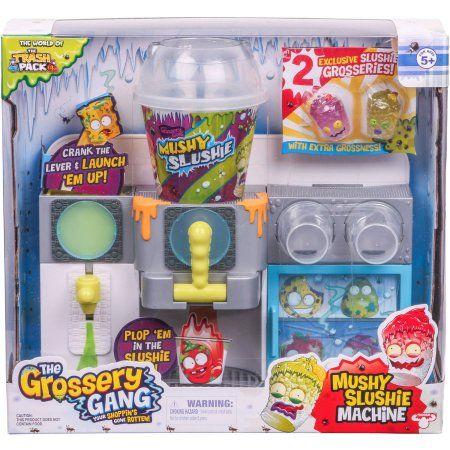The Grossery Gang Mushy Slushie Machine Playset, Multicolor
