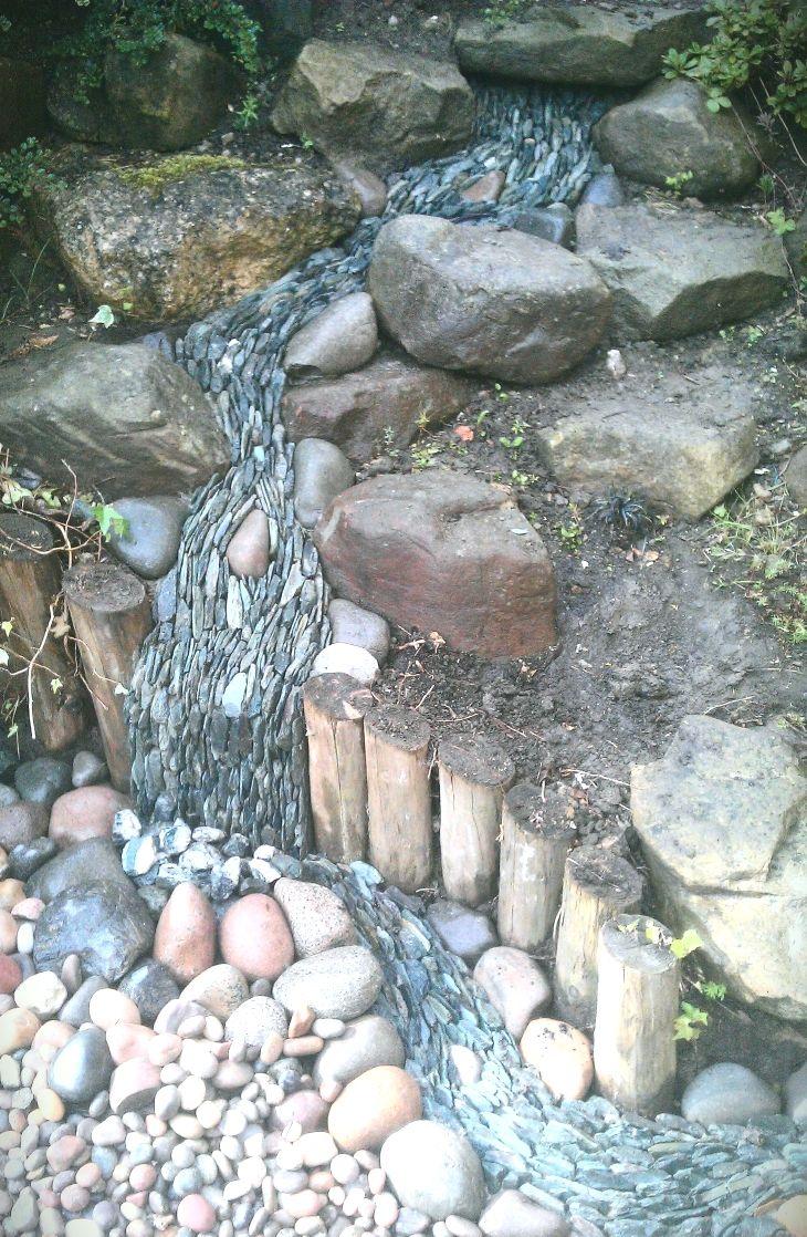 top 25+ best rock waterfall ideas on pinterest | garden waterfall