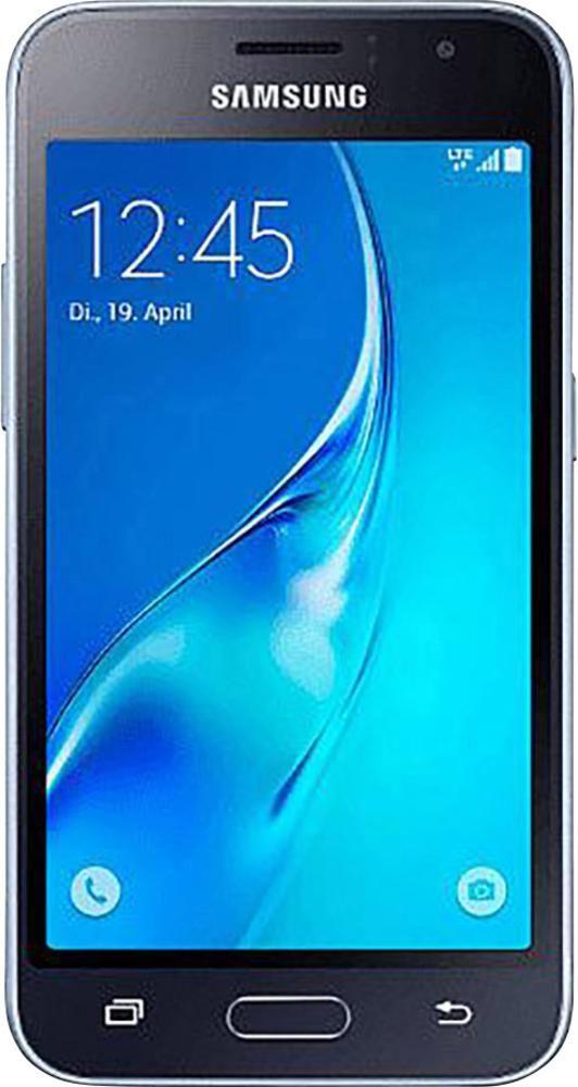 Samsung Galaxy J1 (2016) LTE-Smartphone 11.4 cm (4.49 Zoll) 1.3 GHz Quad Core 8 GB 5 Mio. Pixel Android™ 5.1 Lollipop Schwarz im Conrad Online Shop