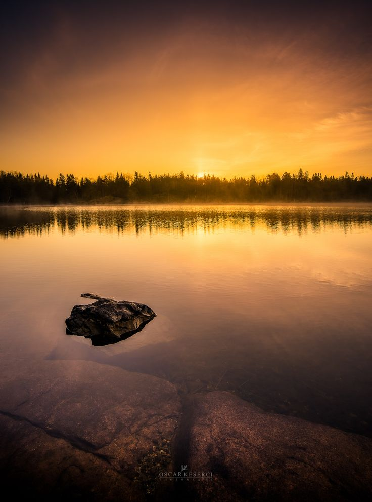 "Golden sunrise - Sunrise image taken in Kirkkonummi,Finland.Feel free to check my  <a href=""http://on.fb.me/1QRPKqq"">Facebook</a>"