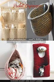 Jammer Beanie Knitting Pattern : Image result for crochet home hanger accessories Crochet Pinterest Croc...