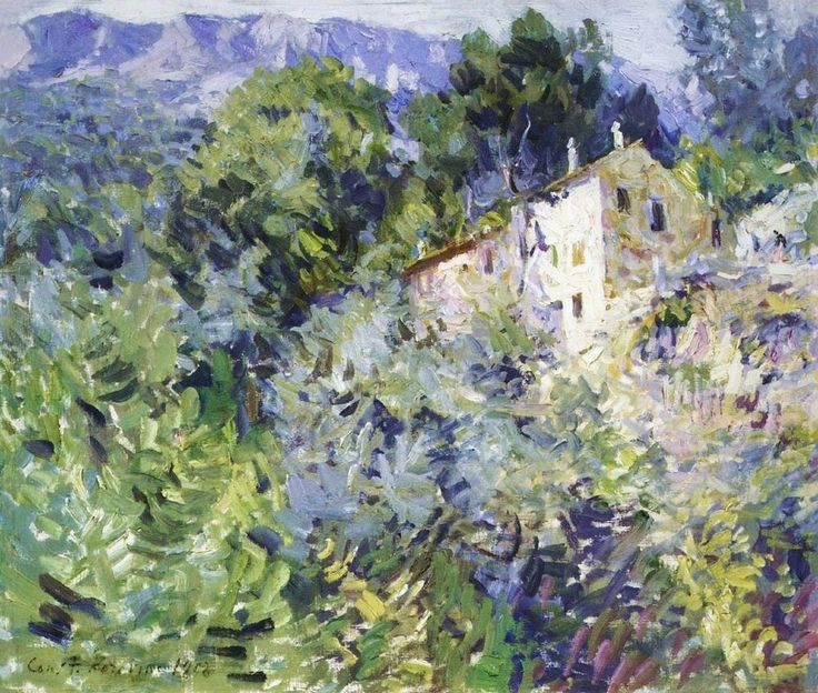 Konstantin Korovin, In the South of France, 1908