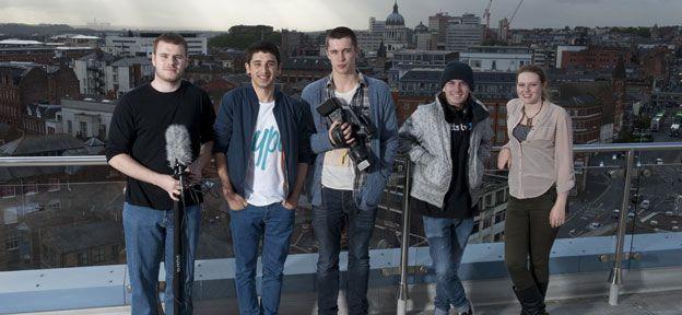 Undergraduates feature heavily in student life at Confetti Nottingham