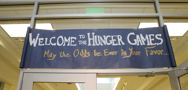 Hunger Games-themed activities - Image source: Mary Perkins.  (2013 BF Summer Challenge Week)