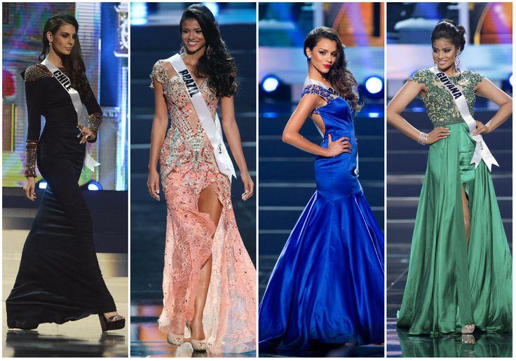 Representantes de #Chile, #Brasil, #Argentina y #Guyana, en el certamen de belleza #MissUniverso2013 #Fashion #MissUniverse2013  Siga las noticias del certamen de belleza en: http://www.eluniverso.com/tema/miss-universo