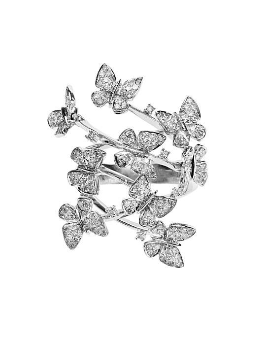 Marsha Varrow butterfly ring. Email for info = way too expensive :)