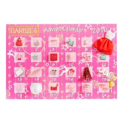 Barbie Advent Calendar, Fashion Dolls