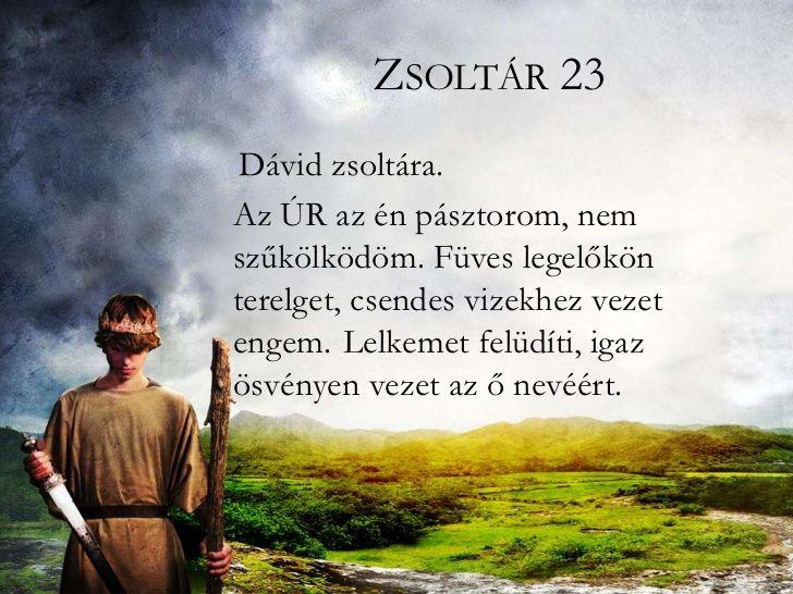 Az Úr az én pásztorom...