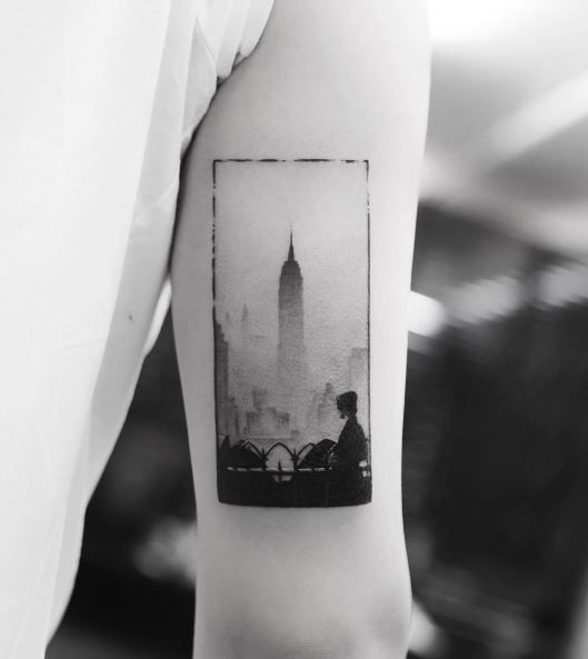 Empire State Building Tattoo