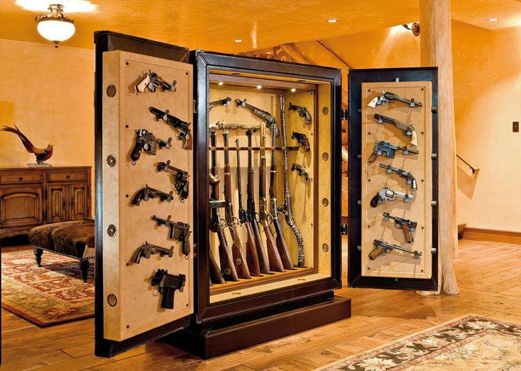 Customized Gun Safe The True Man Cave. This Is Appropriate Gun Storage For  A Real Man To Keep His Guns From The Wrong Hands! ALL GUN OWNERS NEED ONE!