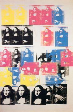 Mona Lisa - 1963. ANDY WARHOL