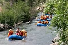 Clear creek rafting ride joy by Shoprma trip gives you great happiness.
