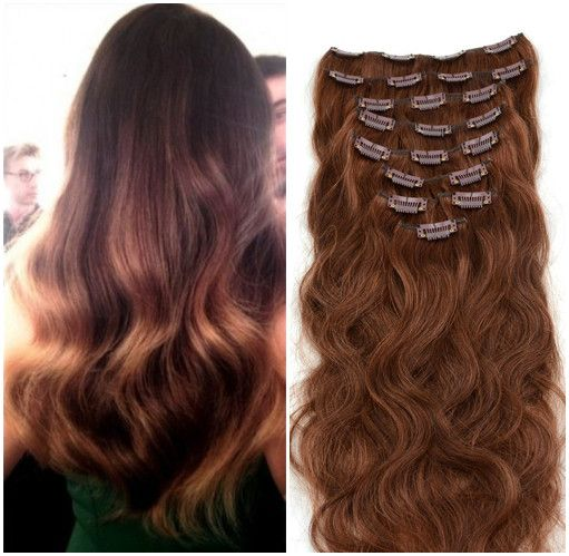 Want to get this perfect soft thick hair? Get now with clip-in hair extensions!