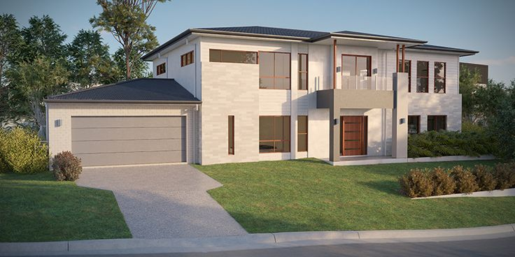 Lister, Two Storey House Plan