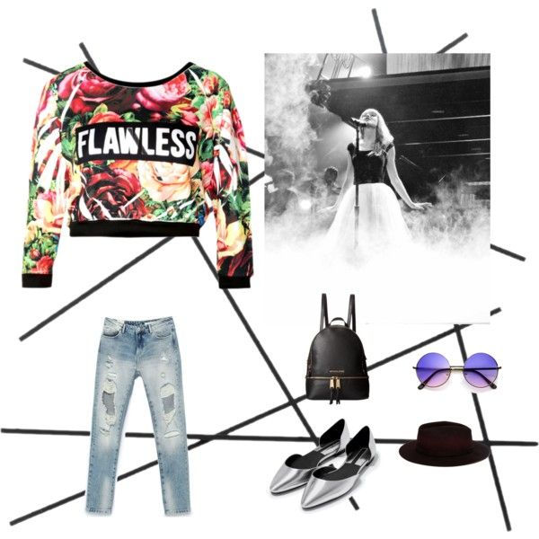 Festival by fromnorah on Polyvore featuring Zara, MICHAEL Michael Kors and CB2