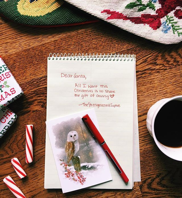 Wishlist önskelista jul