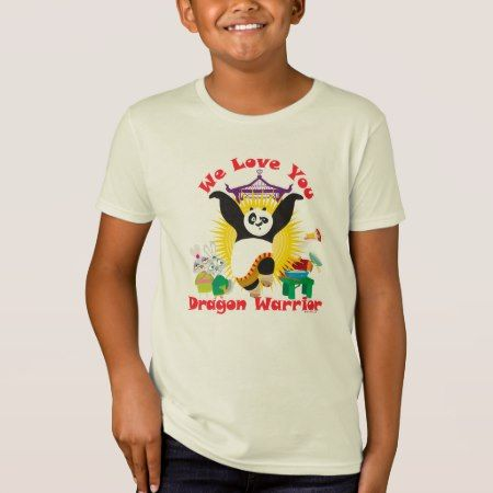 Dragon Warrior Love T-Shirt - click/tap to personalize and buy