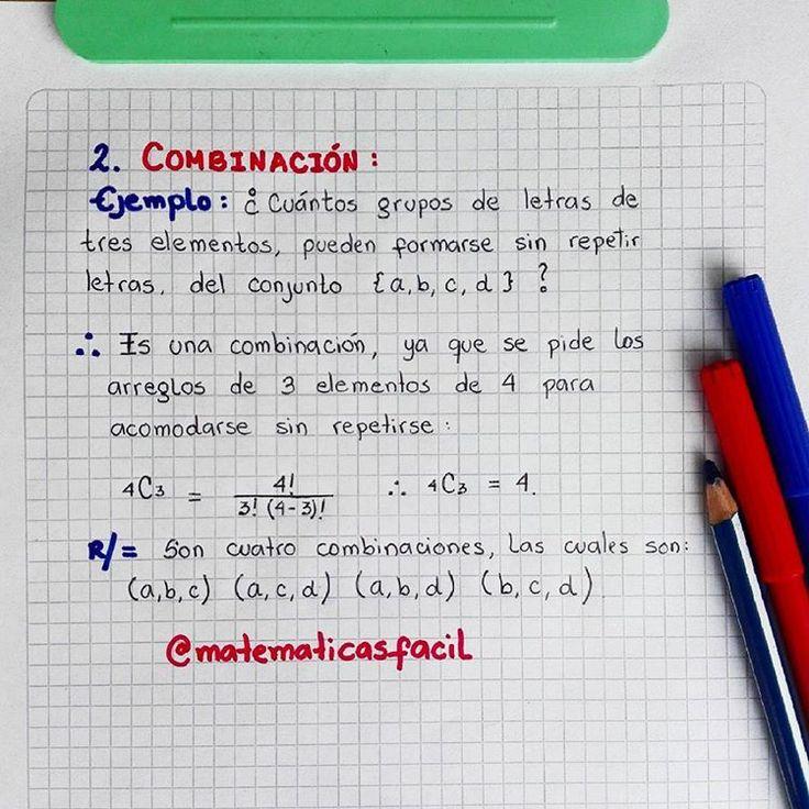 COMBINACIÓN    Ejemplo ✅    #matematicas #matematica #matematik  #estadistica #estadisticas #combinatoria #probabilidades #probabilidad #variacion #variaciones #permutacion #permutaciones #combinacion #combinaciones #barranquilla #colombia