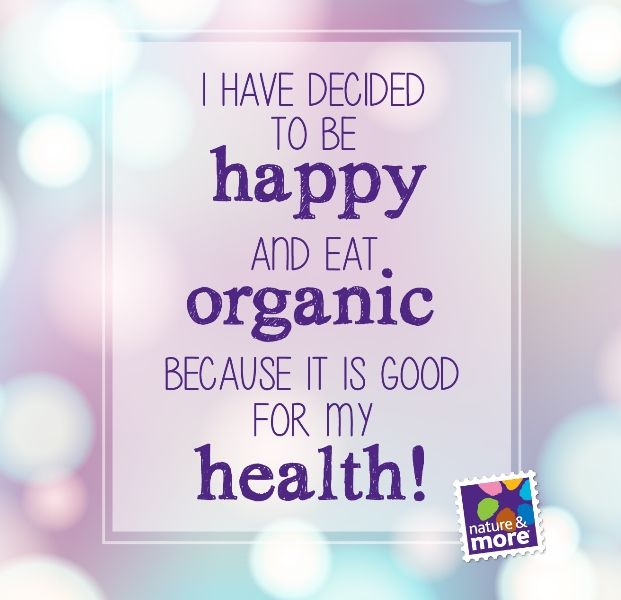 Have a nice organic weekend! #organic #natureandmore #health #eosta #lifestyle