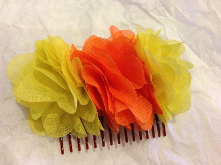 yellow and orange three flowers!
