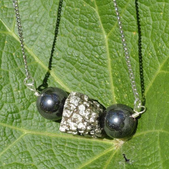 Dark Mines  Genuine Pyrite Rough Hewn Nugget by ReasonablyRustic, $28.00