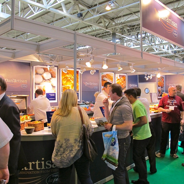 The Pan'Artisan stand at Foodex 12 was easily the busiest and extremely popular!
