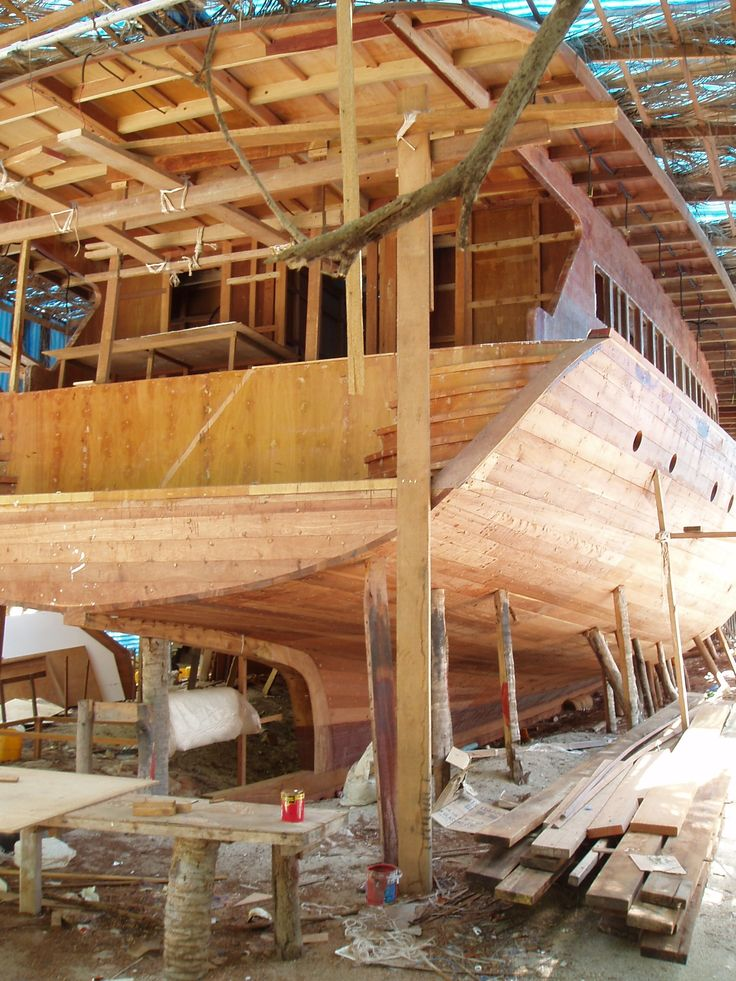 Wooden Boat Building, Maldives
